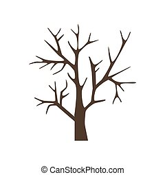 Fruit Tree Icon - Tree Icon on the white background. Vector...
