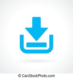Download vector icon