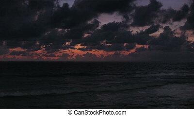 Tropical Beach - Sunset on the tropical beach