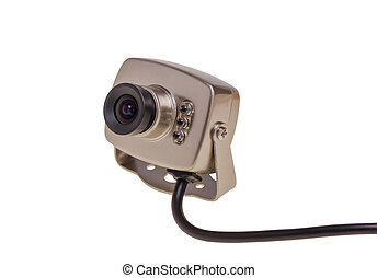 Internal security surveillance camera with night vision LED...