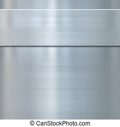 fine brushed steel metal - very finely brushed steel metal...