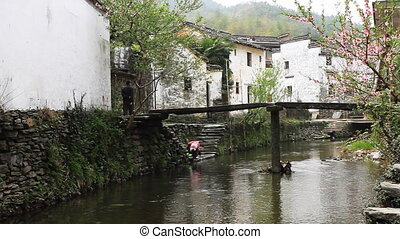 wuyuan40mov - beautiful old village in China