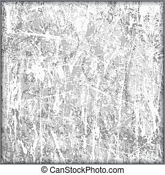 Seamless Grayscale Illustration of a Tile with Patterned Scratches. Vector EPS8