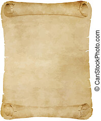 old parchment scroll - old paper parchment scroll