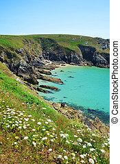 Pointe du Van - Brittany - Atlantic Ocean coast at Pointe du...