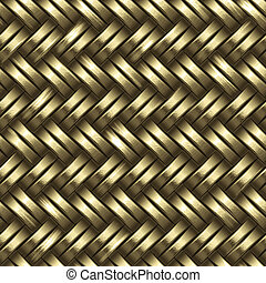 woven gold background