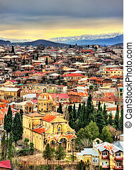 Kutaisi, the second largest city of Georgia - View of...