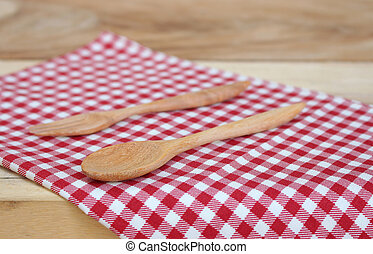 tablecloth for food serving background - tablecloth and...