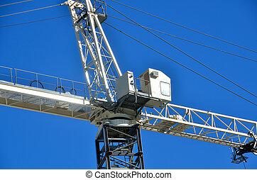 Construction Crane - Construction crane at building site