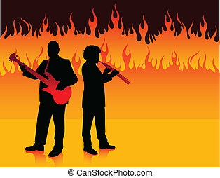 Musical Band in Hell