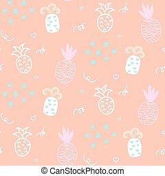 Baby pattern design Nursery kid background - Baby pattern...
