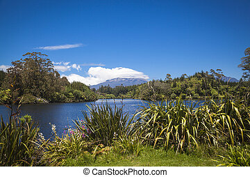 Mount Taranaki in New Zealand