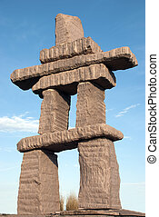 Inukshuk - the angular view