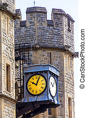 South face of the Waterloo Block Tower of London - The south...