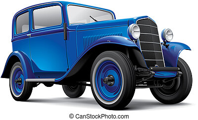 European prewar compact automobile - High quality...