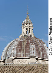 Basilica of Saint Peter in Vatican in a summer day