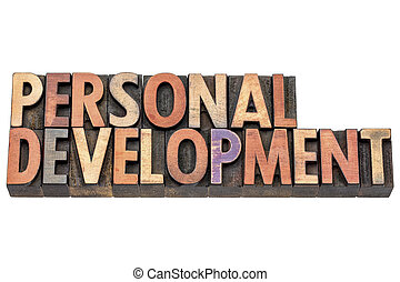personal development in wood type