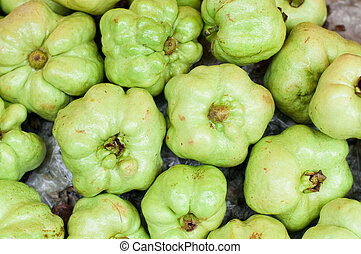 guavas - fresh guavas for sale in the market