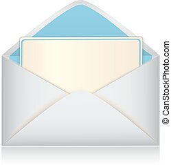 envelope with a card