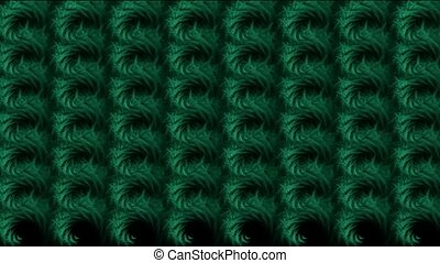 abstratct rotation green pattern,us
