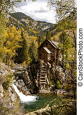 Fall Colors at Historic Crystal Mill