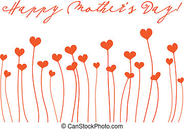 Happy Mother\\\'s Day - mother\\\'s day card with heart...
