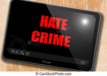 Hate crime background