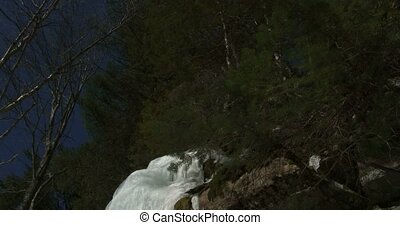 Small icefall in Algonquin Park