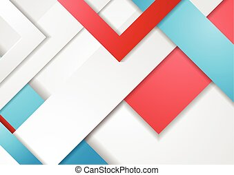 Tech geometric material vector background
