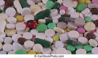 Medical preparations for patients, pills and capsules