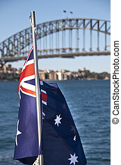 Sydney Bay, August 2009 - Sunny August Morning in the Bay of...