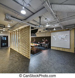 Coworking in loft style - Interior in a loft style There are...