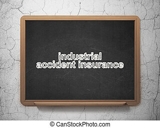 Insurance concept: Industrial Accident Insurance on...