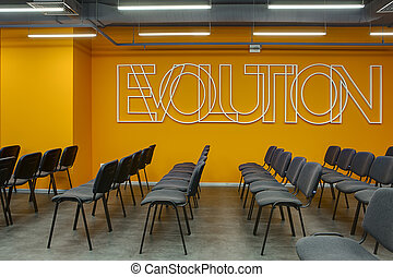 Modern conference hall - Room for lecture with a lot of...