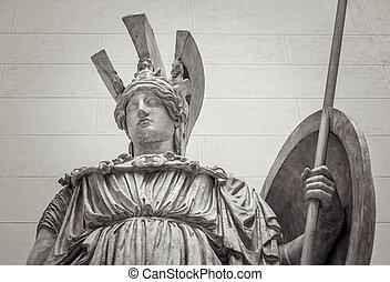 Athena Greek goddess of wisdom and science