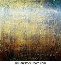 Stylish grunge texture, old damaged background With...