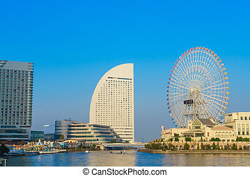 Ferris wheel minato mirai , - Ferris wheel at cosmo world...