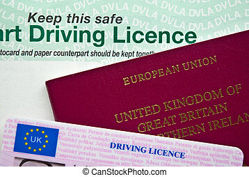 Passport and Licence - UK Passport and Driving Licence