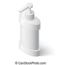 Liquid Soap Dispenser - White Liquid Soap Dispenser in...