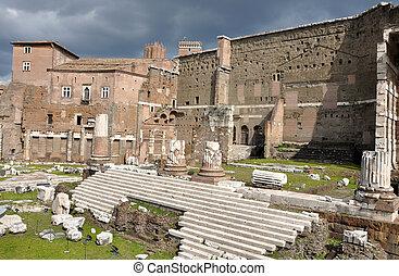 Imperial forum of Emperor Augustus Rome, Italy
