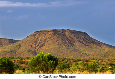 Butte in Arizona - Scenic hill in the middle of Arizona...