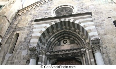 Small medieval church in Genoa - Small medieval church in...