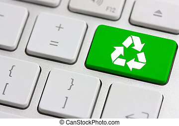 recycle on keyboard