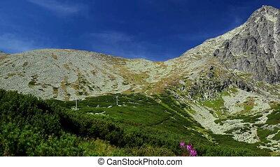Tatras mountains in Slovakia panorama view