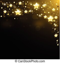 Sky studded with sparkling stars - Night sky studded with...