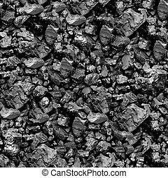 Coal seamless background - Texture pattern for continuous...