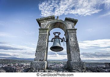 Cold belfry - Wide view of cold belfry