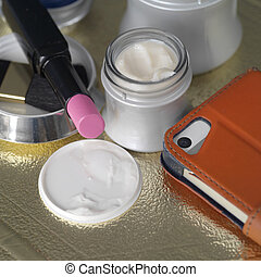 Female Things And Objetcs - Facial creams and lotions next...