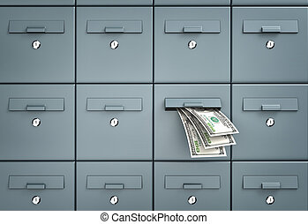 Mailboxes - business metaphor - Mailboxes. One of the...