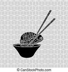Japanese culture design - Japanese culture design, vector...